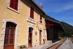 La gare de Thorame Haute