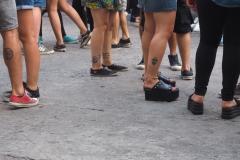 Les jambes tatouées des argentins
