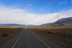 En route vers le Perito Moreno