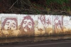 Fresque à Puerto Iguazu