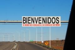 Sur la route, passage à Rio Gallegos