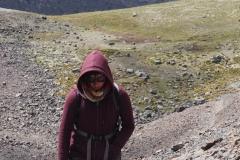 Arrivée au col à 5100 mètres