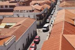 Rue depuis le couvent San Felipe Neri Sucre