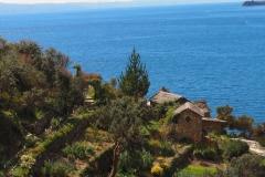 Les terrasses de l'Isla del Sol