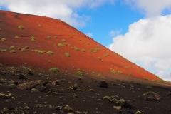 Le volcan de la Montaña Colorada