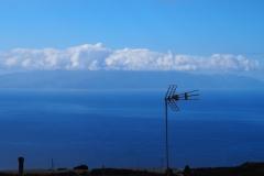 Vue sur La Gomera depuis Chio