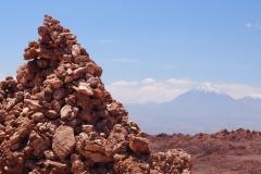 Cairn + volcan