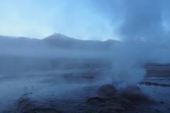 Il est 7h, le geyser s'éveille