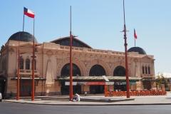 Le centre culturel dans l'ancienne gare