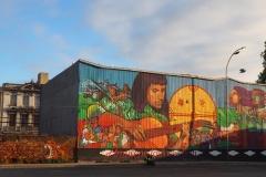 Arrivée Valparaiso première fresque