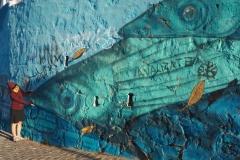 Fish art Valparaiso