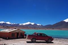 Laguna Verde à 4300 mètres