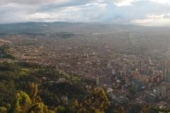 Vue de Bogota depuis le Monteserrate