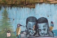 Street art à Medellin, quartier Comuna 13