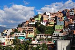 Les maisons colorées de la Comuna 13