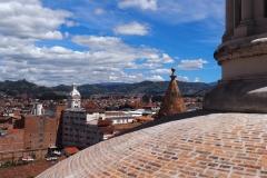 Vue depuis les toits de la cathédrale de Cuenca