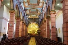 A l'intérieur de la cathédrale antigua de Cuenca
