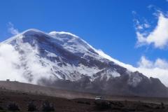 Le Chimborazo, plus haut sommet de l'Equateur