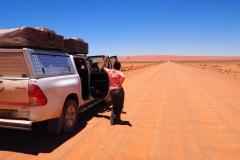 La route du désert