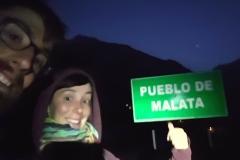 Arrivée de nuit à Malata, petit village perdu sur le chemin !