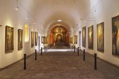 La pinacoteca dans le couvent Santa Catalina