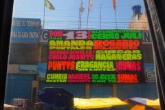 Les affiches publicitaires typiques du Pérou
