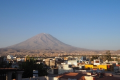 Arequipa et son volcan