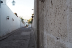Les rues d'Arequipa la blanche