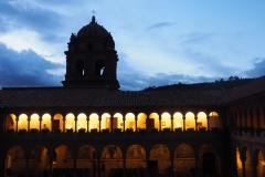 Fin de journée au monastère de Qorincancha