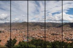 La vue depuis le mirador de Sacsayhuaman