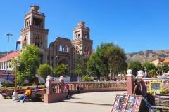 Place centrale de Huaraz