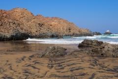 La belle et sauvage plage Jihuay