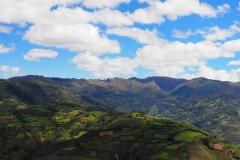 Paysage à Kuelap