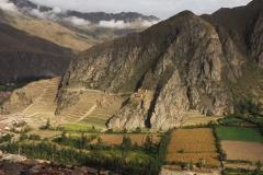 Les ruines d'Ollantaytambo