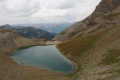 Le lac de la petite Cayolle