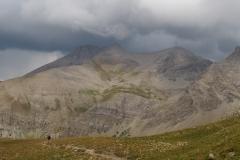 L'orage se forme au-dessus du Pelat