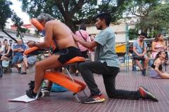 Massage acrobatique