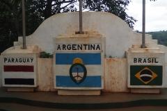 Tres fronteras (Paraguay, Argentine, Brésil)