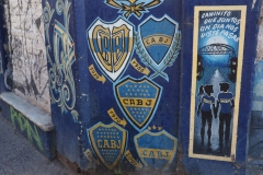 Les couleurs de Boca Juniors