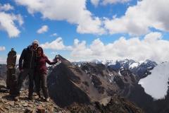 Photo sommet 5350 mètres