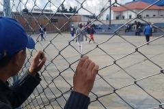 Foot de rue à El Alto
