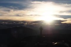 Coucher de soleil sur Potosi