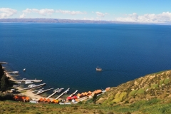 Le port de Yumani