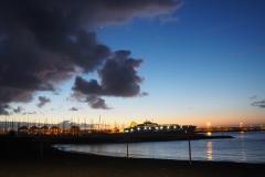 Ferry à l'aube