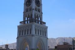 L'horloge de la belle place d'Iquique