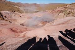 Des geysers et des hommes