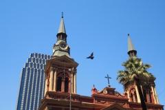 Santiago, tradition, modernité et pigeon