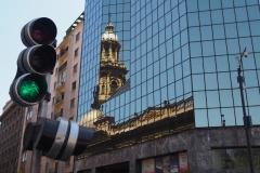 Dans le centre de Santiago