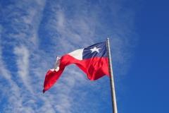 L'immense drapeau chilien