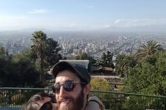 Depuis le Cerro San Cristobal